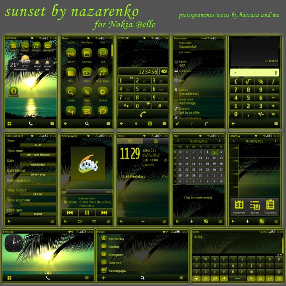 Sunset By Nazarenko