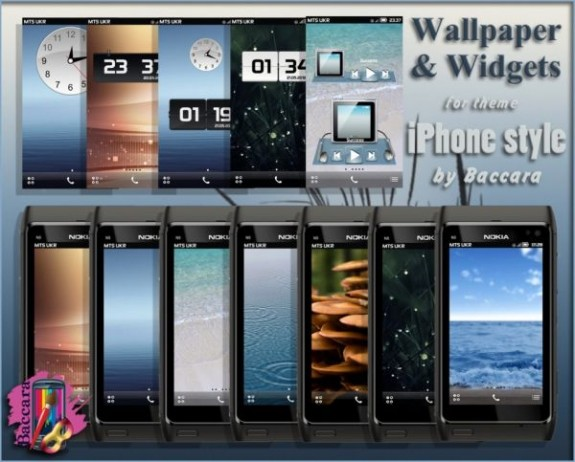 iPhone Style by Baccara (Wallpaper)
