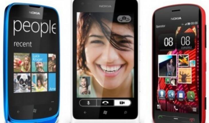 Nokia 808 PureView - Nokia Lumia 900 - Nokia Lumia 610