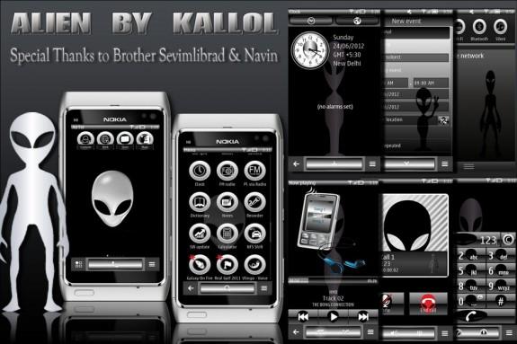 Alien by Kallol