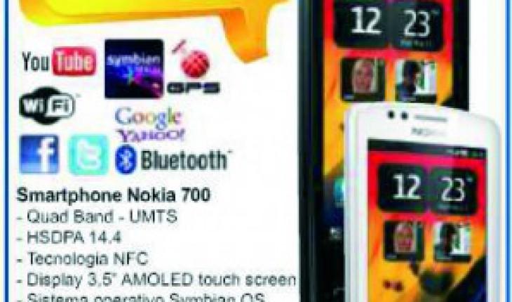 Nokia 700 in offerta da Carrefour