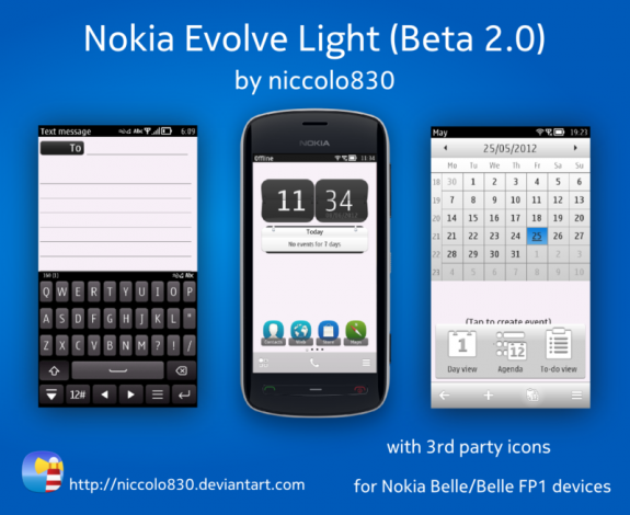 Nokia Evolve Light Beta 2.0 by Niccolo830