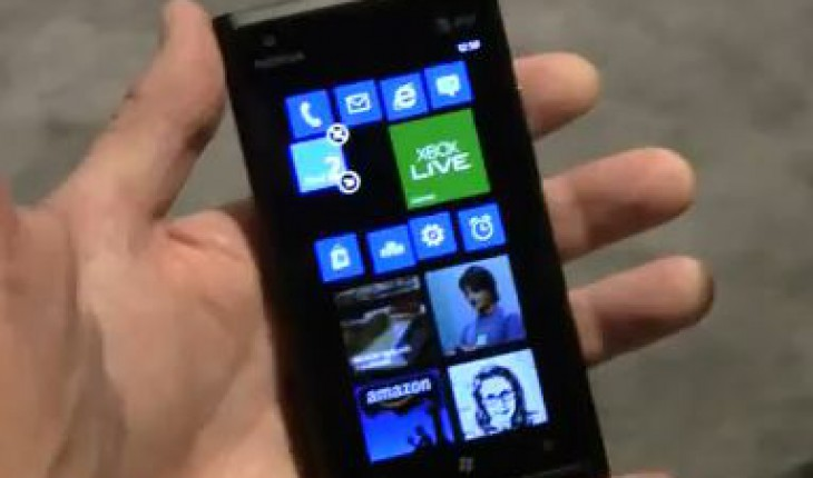 Nokia Lumia 900con Windows Phone 7.8