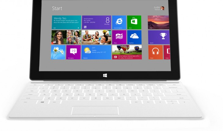 Surface Tablet di Microsoft