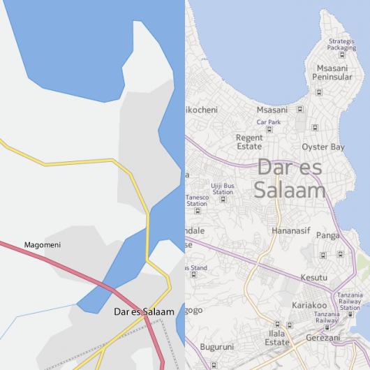 Le mappe di Nokia usate da flckr