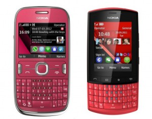Nokia Asha 302 e Nokia Asha 303