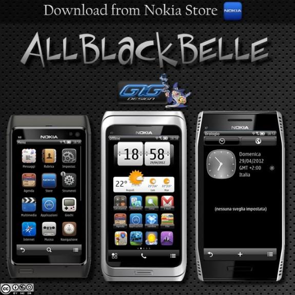 AllBlack Belle by Giulio7g