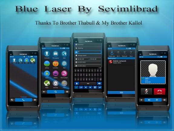 Blue Laser by sevimlibrad