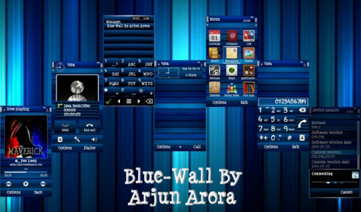 Blue Wall S^3 [Faenza Icons] By Arjun Arora