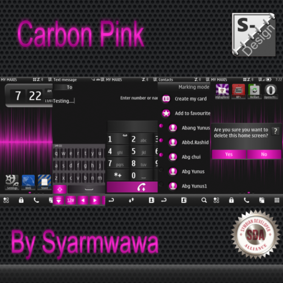 Carbon Pink by Syarmwawa