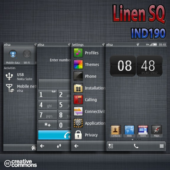 Linen SQ by IND190