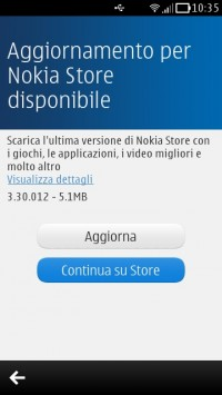 Update Nokia Store 3.30.012