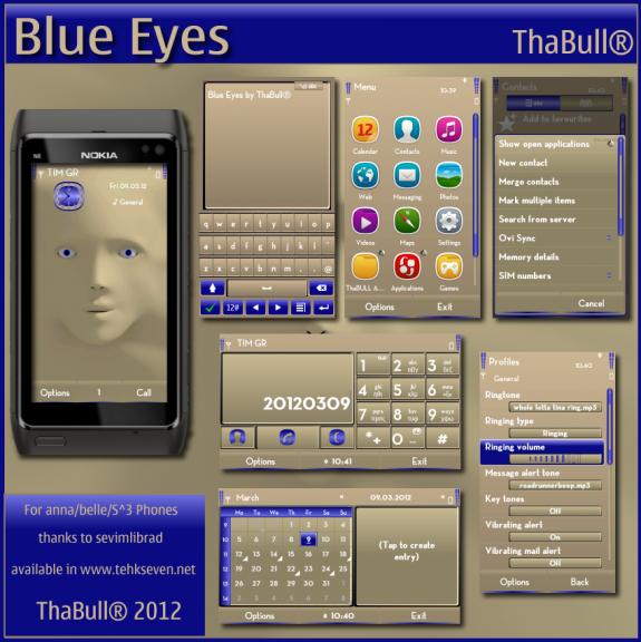 Blue Eyes by ThaBull