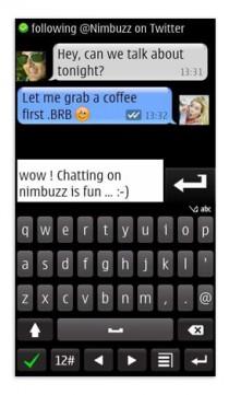 Nimbuzz per Symbian