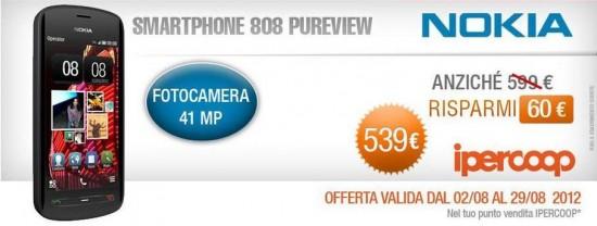 Nokia 808 promo Ipercoop