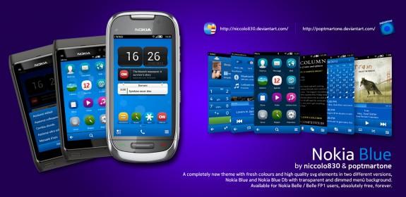 Nokia Blue by niccolo830 & poptmartone