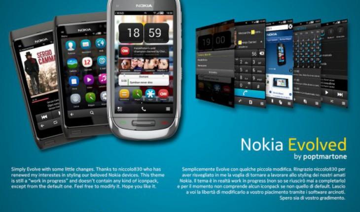 Nokia Evolved by Poptmartone