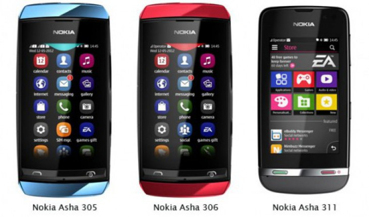 Nokia Asha Devices Full Touch