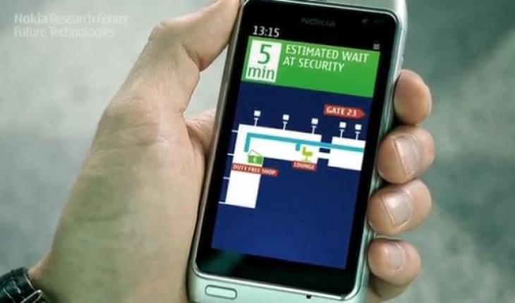 Nokia indoor GPS