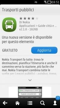 Update Nokia Trasporti Pubblici