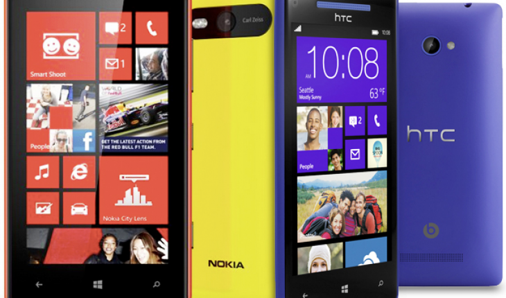 Nokia Lumia e HTC