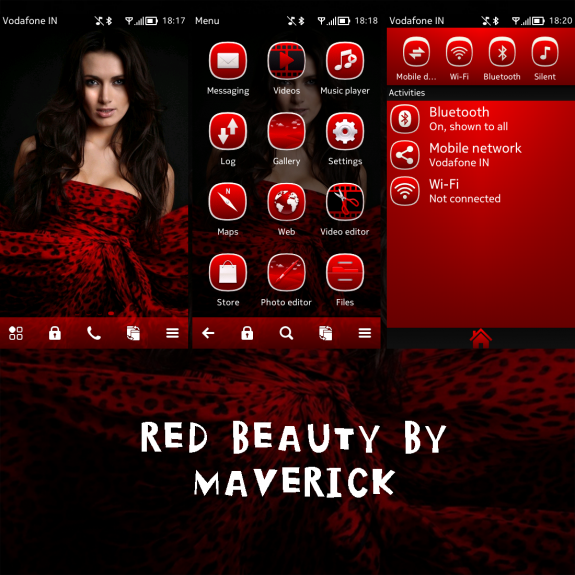 Red Beauty By Maverick