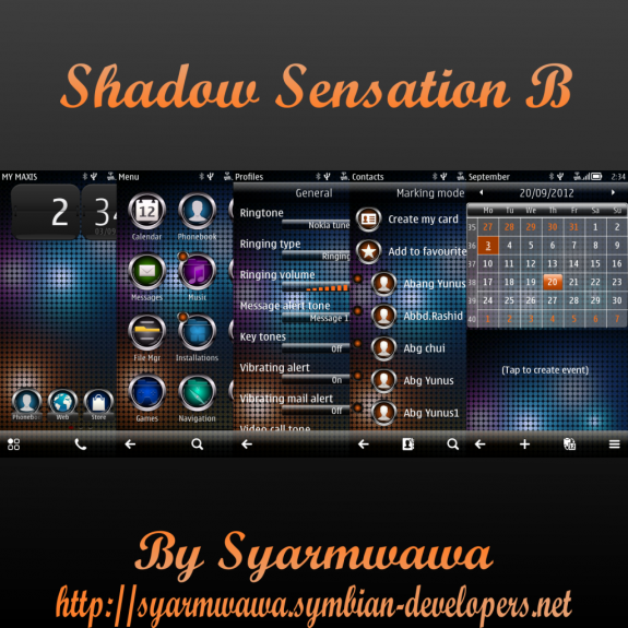 Shadow Sensation B By Syarmwawa