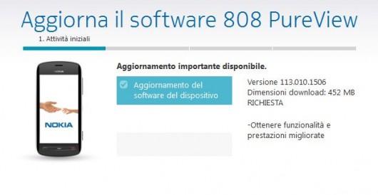 Update Nokia Belle FP2 v113.110.1506