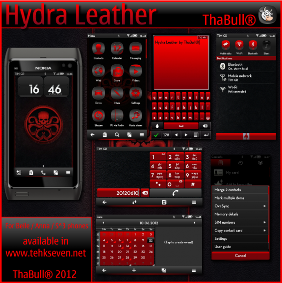 Hydra Leather by ThaBull