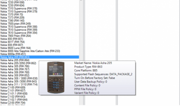 Nokia Asha 205 su Navifirm