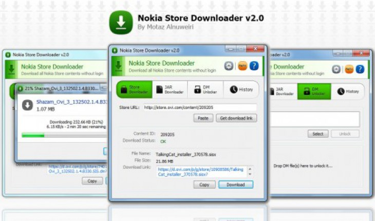 Nokia Store Downloader v2.0