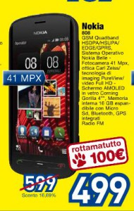Nokia 808 PureView in offerta