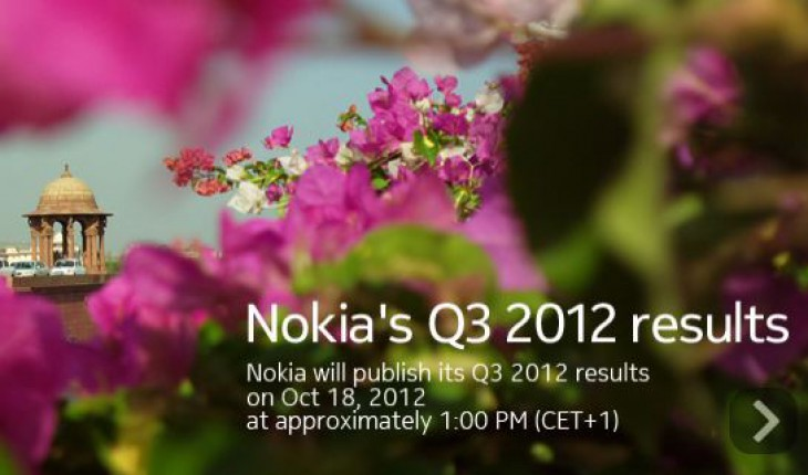 Nokia Results Q3 2012