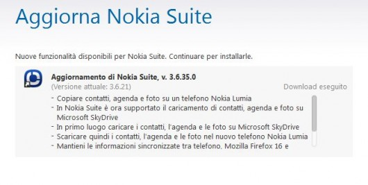Nokia Suite Beta v3.6.35