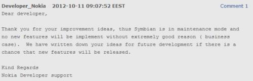 Symbian developer forum