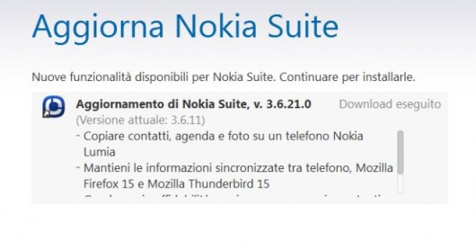 Update Nokia Suite Beta v3.6.21