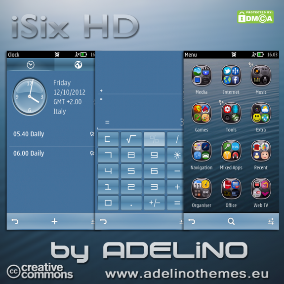 iSix HD by Adelino