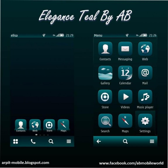 Elegance Teal By AB