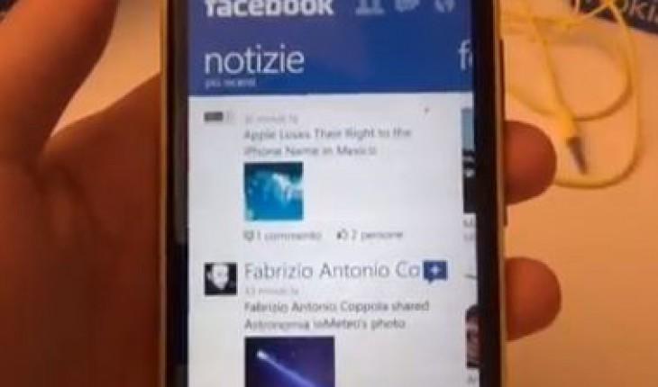 Facebook per WP8