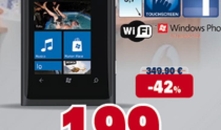 Nokia Lumia 800 sottocosto