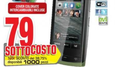 Nokia 500 a soli 79 Euro nei negozi Comet