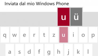 Scrittura su Windows Phone 8