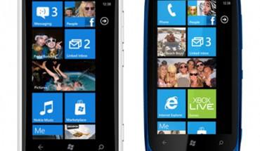Nokia Lumia 800 e Nokia Lumia 610