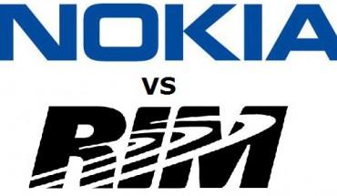 Nokia vs RIM
