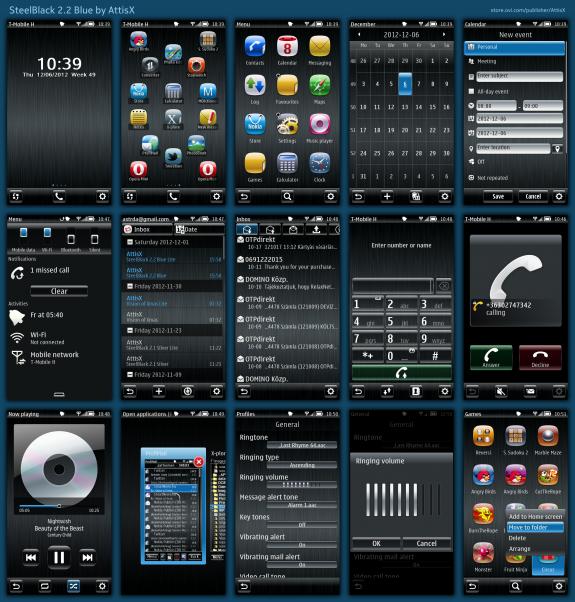 SteelBlack 2.2 Blue By AttisX