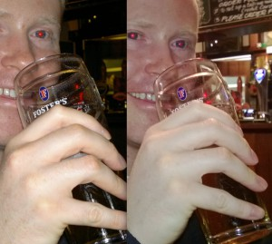 Flash automatico: Nokia N8 a sinistra e Nokia Lumia 920 a destra