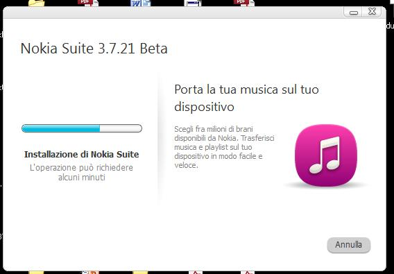Nokia Suite Beta v3.7.21
