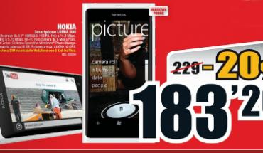Nokia Lumia 800 in offerta