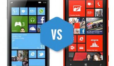 Nokia Lumia 920 vs Samsung ATIV S