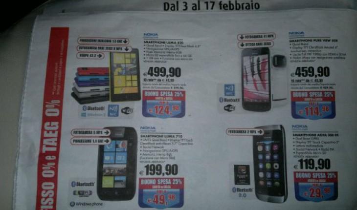 Offerte Nokia Fiordaliso